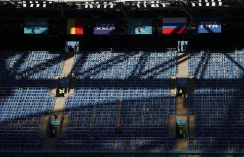 Vienų iš favoritų startas: Belgija – Rusija