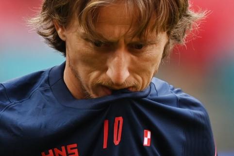 Prieš artėjančias rungtynes L. Modričius išskyrė anglų aroganciją