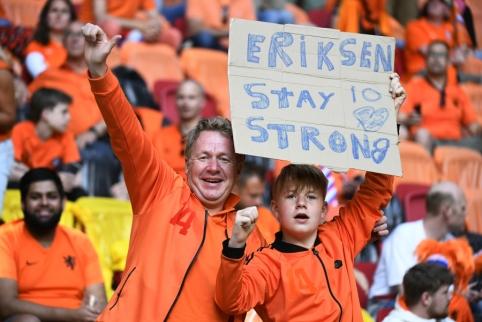 Europos čempionate – Nyderlandų ir Ukrainos susidūrimas