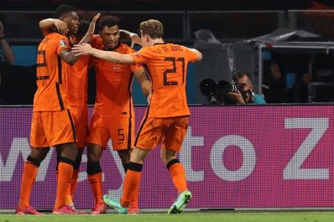 Nyderlandai – Europos čempionato aštuntfinalyje