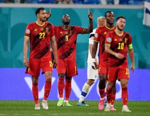 Belgai iškovojo trečiąją pergalę EURO 2020