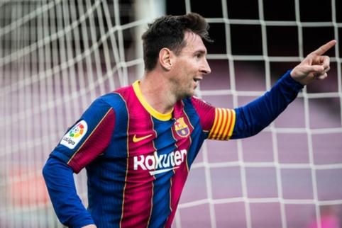 """S. Ramosas: """"Messi visada turės vietą mano komandoje"""""""