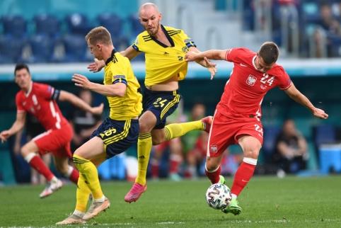 Paskutinėmis sekundėmis švedai parbloškė lenkus