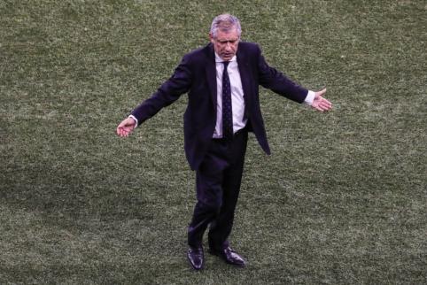 F. Santosas: turime nedaug laiko pasiruošti mačui, bet tai nesuteiks belgams pranašumo