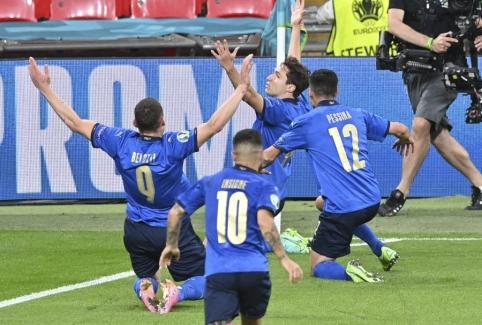 Italai po 120 minučių kovos žengė į Europos čempionato ketvirtfinalį