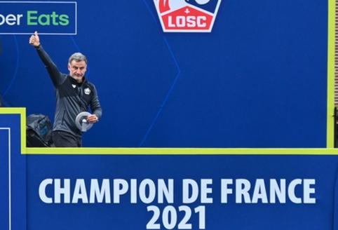 """""""Ligue 1"""" su """"Lille"""" triumfavęs C. Galtier persikelė į """"Nice"""""""