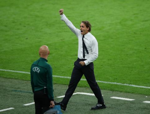 R. Mancini: beveik niekas netikėjo, kad mes galime patekti į EURO 2020 finalą