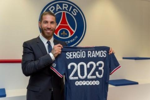 Oficialu: S. Ramosas prisijungė prie PSG žvaigždyno