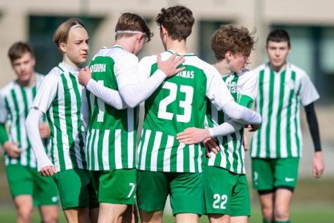 """Istorinis pasiekimas – """"Žalgirio"""" jaunimas startuos UEFA Jaunimo lygoje"""