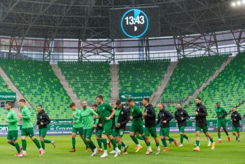 """Įvartį prieš """"Ferencvaros"""" mušęs O. Verbickas: """"Džiaugiuosi galimybe juos vėl sutikti"""""""