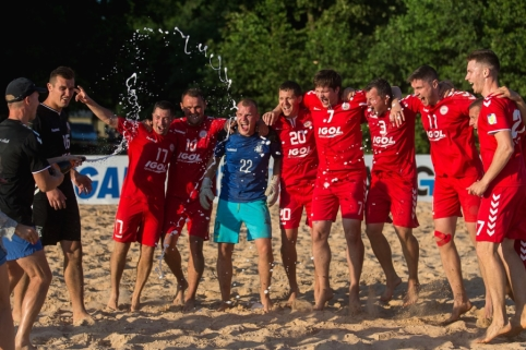 Išaiškėjo Lietuvos paplūdimio futbolo čempionas