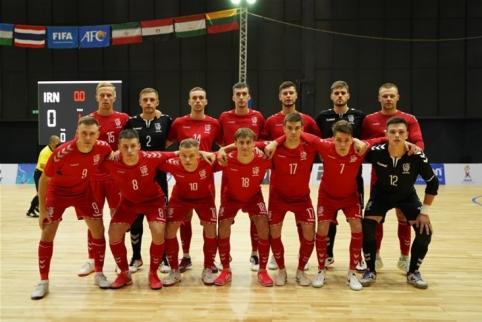 Tarptautiniame turnyre – Irano pamoka lietuviams