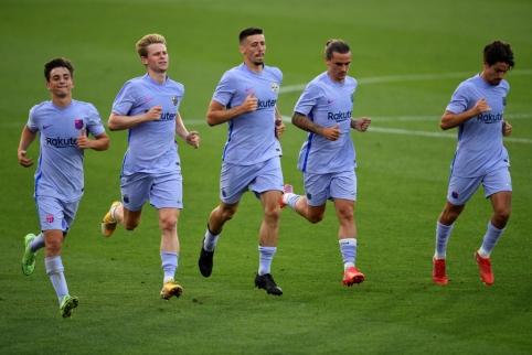 """Liepos 26 d. transferai ir gandai: pasiūlymai """"Barcai"""" ir sėkmingos """"Man Utd"""" derybos"""