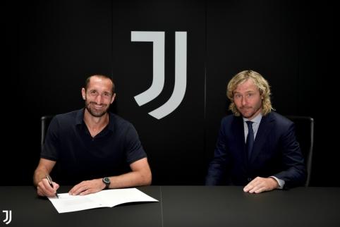 """Oficialu: G. Chiellini pratęsė kontraktą su """"Juventus"""""""