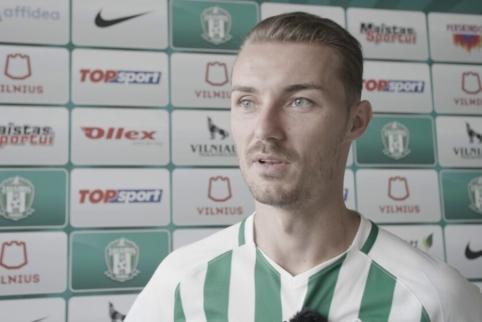 """M. Paveličius: """"Atvykau čia, nes klubas turi ambicijų ir galiu jam padėti"""""""