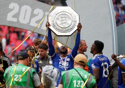 """""""Leicester"""" iškovojo """"Community Shield"""" trofėjų"""