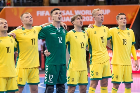 Ketvirtoji Futsal čempionato diena: šansas reabilituotis Lietuvos ekipai