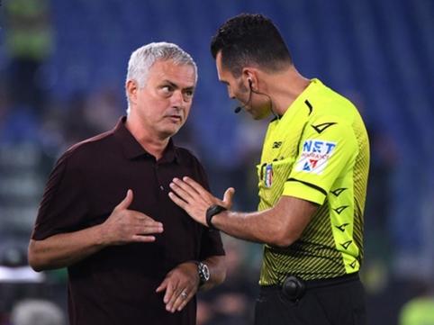"""J. Mourinho 1000-osios rungtynės: """"AS Roma"""" išplėšė pergalę prieš """"Sassuolo"""""""