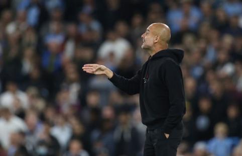 """P. Guardiola: """"Norėčiau, jog daugiau sirgalių ateitų į rungtynes šeštadienį"""""""