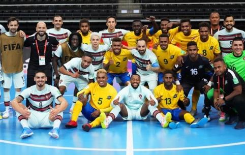 Futsal čempionatas: gražiausias įvartis ir pirmos lygiosios