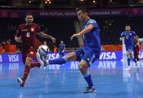 Futsal: pasaulio čempionato atkrintamųjų poros, tvarkaraštis ir arenos