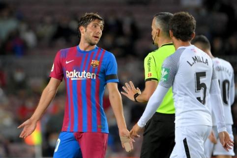 """""""Barcelona"""" vos išplėšė tašką mače prieš """"Granada"""""""