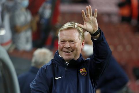 """R. Koemanas: """"Nesame ta """"Barcelona, kuri buvo prieš 8 metus"""""""