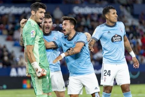 """""""La Liga"""" turą užbaigė antroji """"Celta Vigo"""" pergalė iš eilės"""