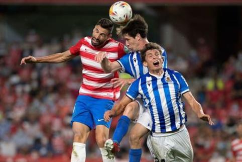 "5 įvarčių trileryje Granadoje triumfavo ""Real Sociedad"""