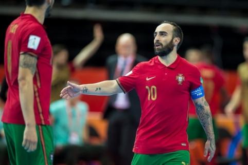 Futsal: įvarčių lietus ir pirmasis čempionato pratęsimas