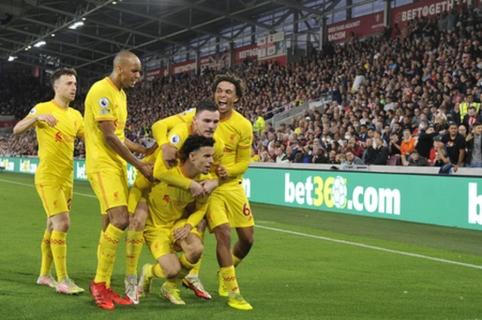 """Įvarčių fiestoje """"Brentford"""" ir """"Liverpool"""" pasidalino po tašką"""