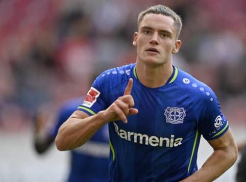 """Lėverkuzeno """"Bayer"""" talentas Florianas Wirtzas – Bundeslygos rekordininkas"""
