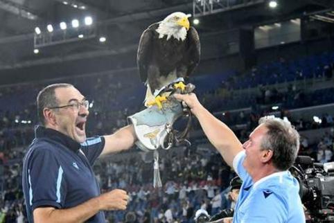 """Romos derbyje – 5 įvarčiai ir """"Lazio"""" triumfas"""