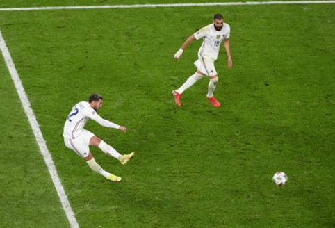 T. Hernandezo smūgis išvedė Prancūziją į Tautų lygos finalą