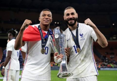 """K. Benzema po triumfo Tautų lygoje: """"Ši komanda turi milžinišką potencialą"""""""