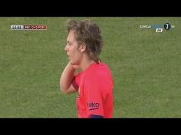 "A.Halilovičiaus debiutas ""Barcelona"" gretose"