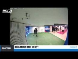 Slapta kamera užfiksavo Brandao smūgį PSG žaidėjui