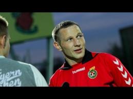 Įveikę estus mūsų futbolininkai jau rengiasi mūšiui su slovėnais
