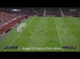 Gražiausi savaitės FIFA15 įvarčiai