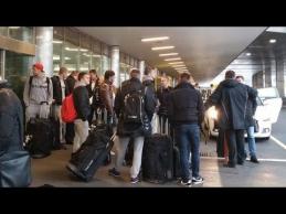 Lietuvos rinktinė atvyko į Šveicariją