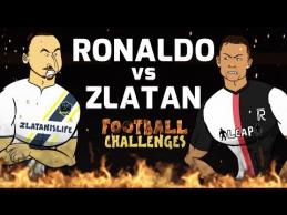 Zlatanas prieš C.Ronaldo