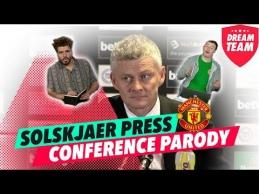 O.G.Solskjaero spaudos konferencija