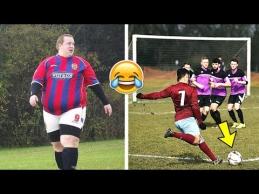 Juokingi momentai mėgėjų futbole
