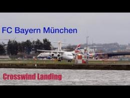 """Sudėtingas """"Bayern"""" lėktuvo nusileidimas"""