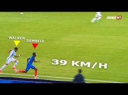 Greičiausi sprintai futbole