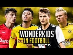 Dešimt futbolo vunderkindų