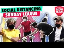 Distancijos taisyklė Sekmadienio futbolo lygoje