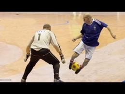 Z. Zidane'o sugebėjimai Futsal aikštėje